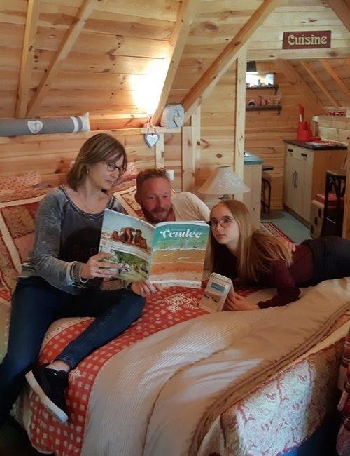 famille camping kota insolite